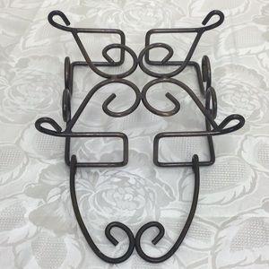Princess House Kitchen - Fantasia Metal Napkin Holder by Princess House